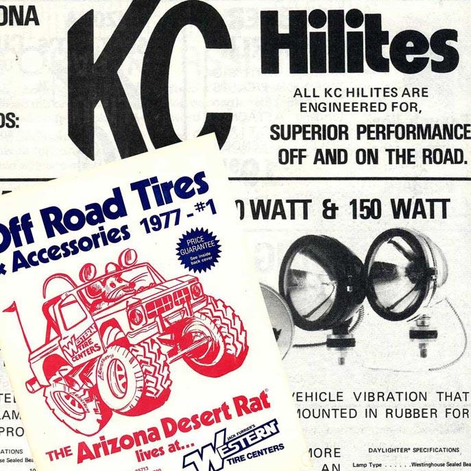 Desert Rat 1977 catalog image