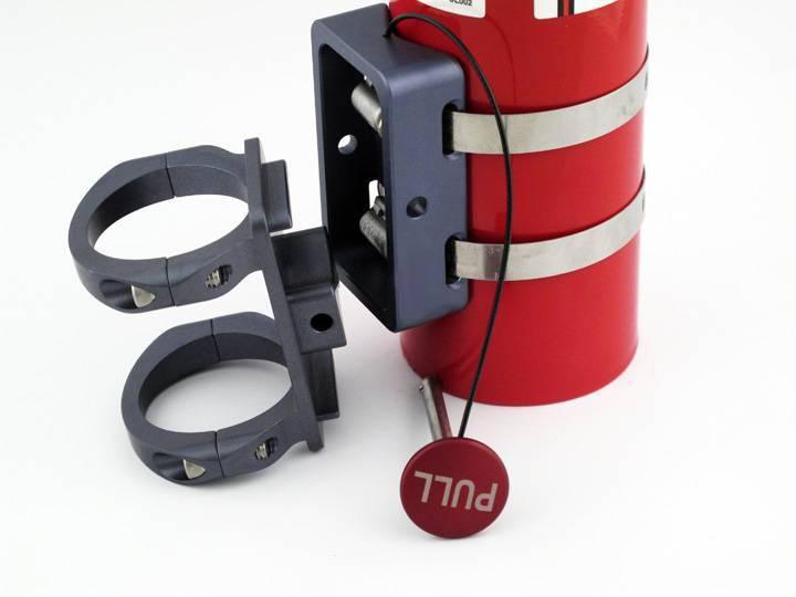 "Tek208 Quick Release Fire extinguisher 1.75"" Roll Bar ... |Fire Extinguisher Roll Bar Mount"