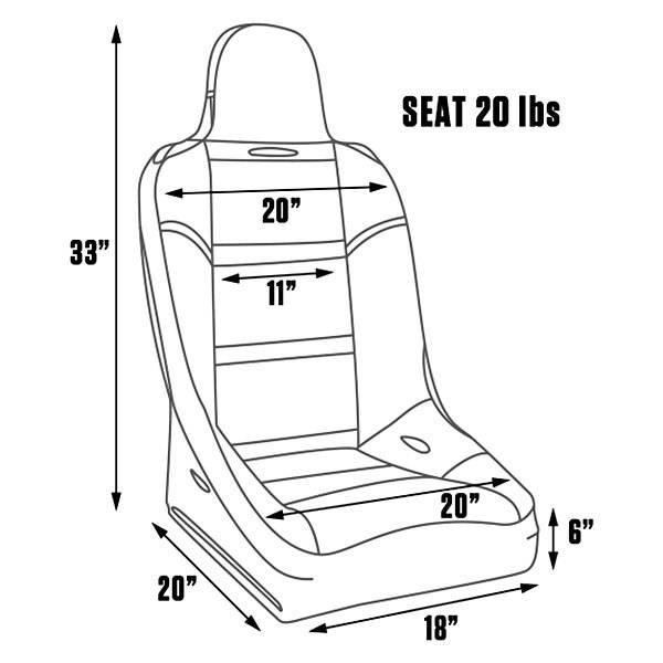 procar terrain seat by scat