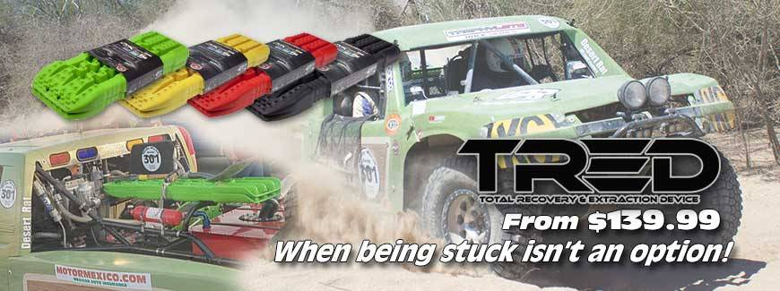 TRED Total Recovery & Extraction Device | DesertRat.com Off Road Center