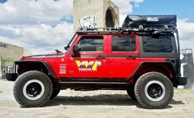 Warrior Mod Roof Rack Jeep Jku 4 Door