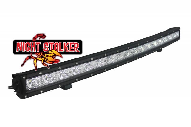 Night Stalker Slim Single Row Curved Premium LED Light ...