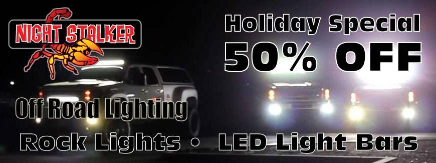 Night Stalker LEDs