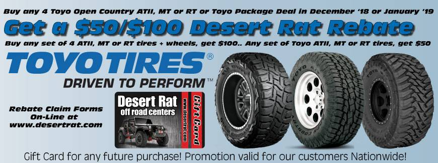 Toyo Tires Gift Card