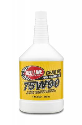 Red Line Oil - Red Line Synthetic Gear Oil - 75W90