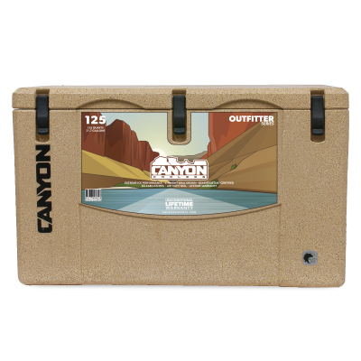 Canyon Cooler - Canyon Cooler The Ultimate Cooler/Ice Chest - 125 Quart