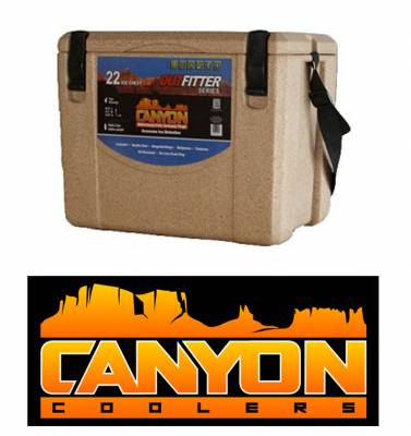Canyon Coolers - Canyon Cooler The Ultimate Cooler/Ice Chest - 22 Quart - Sandstone