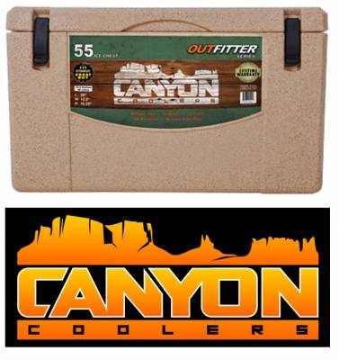 Canyon Cooler - Canyon Cooler The Ultimate Cooler/Ice Chest - 55 Quart