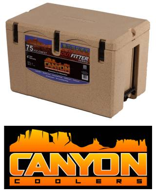Canyon Coolers - Canyon Cooler The Ultimate Cooler/Ice Chest - 75 Quart - Sandstone
