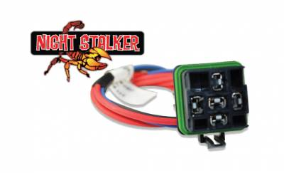 Night Stalker Lighting - Night Stalker ISO Weatherproof Pre-Wired Relay Pigtail