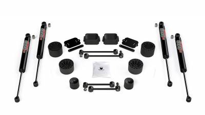 "Tera-Flex Suspension - JL 2-Door Rubicon: 2.5"" Performance Spacer Lift Kit w/ 9550 VSS Shocks"