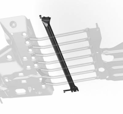 AEV - AEV Colorado Exhaust Crossover Skid Plate - Gas Engine
