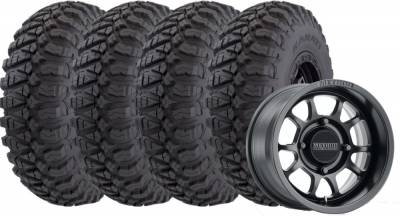 Kanati Tire - 32x9.50R15 Kanati Terra Master UTV on 15x7 Method 409 Black