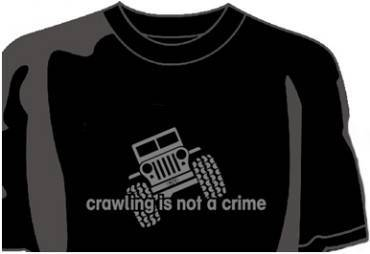 Desert Rat Logo Items - Desert Rat Crawling T-Shirt - Black