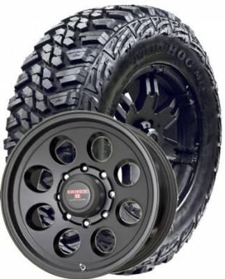 Kanati Tire - LT35X12.50R17 Kanati Mud Hog on Tracker II Black