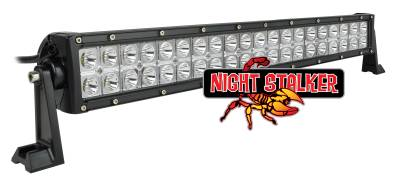Night Stalker Lighting - Night Stalker Ecomomy Premium LED Light Bars - 21.5 In.