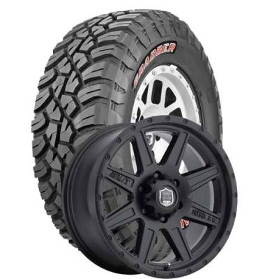 General Tire - LT285/75R16  General Grabber X3 BSW on Deegan 38 Pro 2 Wheels