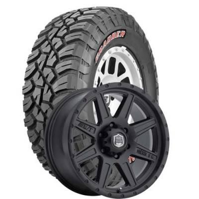 General Tire - 37X12.50R18  General Grabber X3 SRL on Deegan 38 Pro 2 Wheels