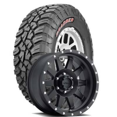 General Tire - LT255/75R17  General Grabber X3 BSW on Method Racing 301 Wheels