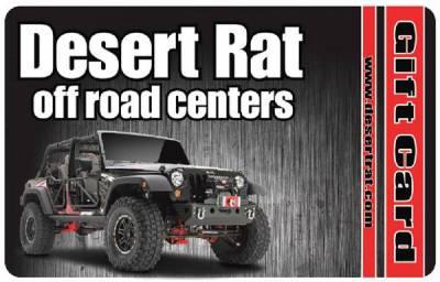 Desert Rat Products - Desert Rat $100.00 Gift Card