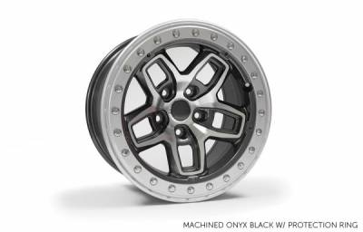 AEV - 17x8.5 AEV Borah - Onyx Black/Machined