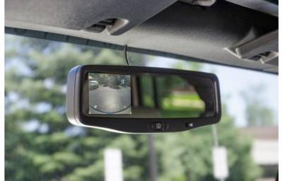 AEV - AEV Rear Vision System w/ Mirror Display 13+ w/ Factory Map Lights