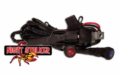 Night Stalker Lighting - Night Stalker Wiring Harness, Dual or Backlight LED Lightbars