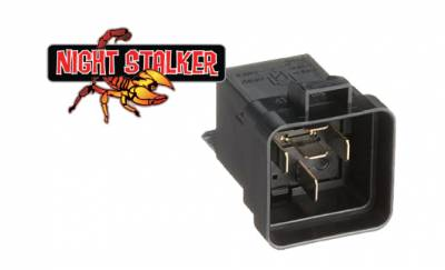 Night Stalker Lighting - Night Stalker ISO Weatherproof 40 Amp Relay/Socket