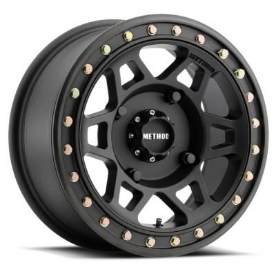 Method Racing Wheels - 15x7 Method 405 -  4x156  4+3 Matte Black