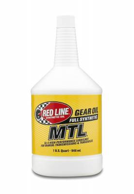 Red Line Oil - Red Line MTL Synthetic Gear Oil - 75W80