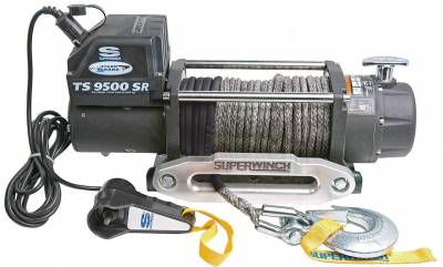 Superwinch - Superwinch Tiger Shark 9500SR Winch, Synthetic Rope