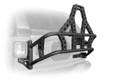 DV8 Offroad - Body Mounted Pre-Runner Style Tire Carrier Wrangler JL 18-Present