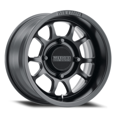 Method Racing Wheels - 15x7 Method 409 Bead Grip -  4x136 - 5+2 Matte Black