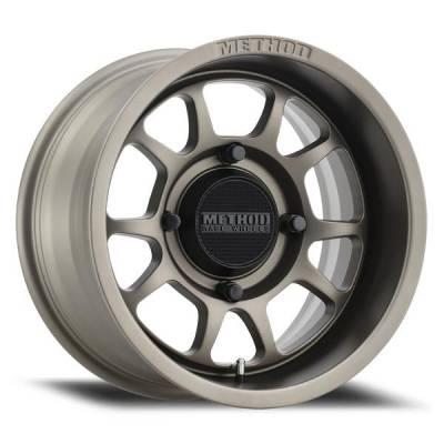 Method Racing Wheels - 15x7 Method 409 Bead Grip -  4x136 - 5+2 - Steel Grey