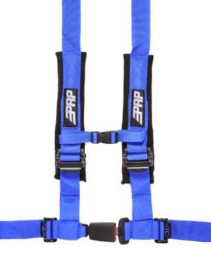 """PRP Safety - PRP 4.2 Harness Safety Belt - Blue 2"""", 4 Point Assembly"""
