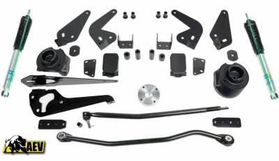 """AEV - AEV 2014-2018 Ram 2500, 3500 HD Diesel-Manual w/ Air Assist 3"""" Suspension 37"""" Tires"""