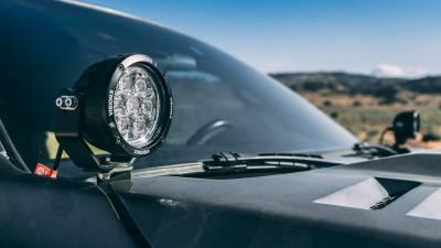 """Vision X Lighting - VISION X SINGLE 3.7"""" 3 LED CG2 MINI LIGHT CANNON"""