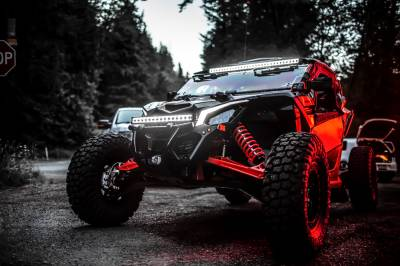 """Vision X Lighting - VISION X 50.98"""" XPL SERIES HALO 39 LED LIGHT BAR INCLUDING END CAP MOUNTING L BRACKET AND HARNESS"""