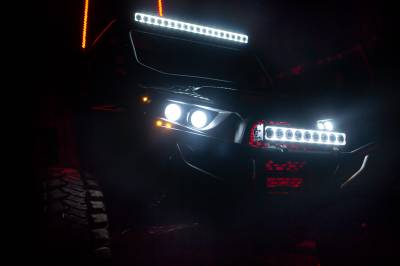 """Vision X Lighting - VISION X 40"""" XPR HALO 10W LIGHT BAR 21 LED TILTED OPTICS FOR MIXED BEAM"""