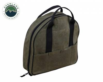 Overland Vehicle Systems - Jumper Cable Bag #16 Waxed Canvas Bag