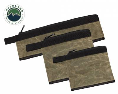 Overland Vehicle Systems - Medium Bags - 3 Individual #12 Waxed Canvas