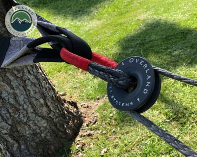 """Overland Vehicle Systems - Combo Pack Soft Shackle 7/16"""" 41,000 lb. and Recovery Ring 4.0"""" 41,000 lb."""