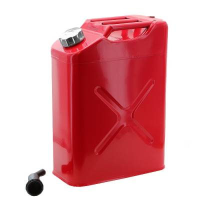 Crown Automotive - 5 Gallon GI Style Steel Can - Red