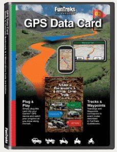 Fun Treks - GPS Data Card - Companion to Arizona Backroads Guide 3rd Ed.