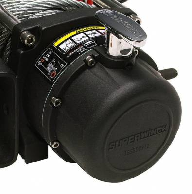 Superwinch - Superwinch Tiger Shark 9500SR Winch, Synthetic Rope - Image 2