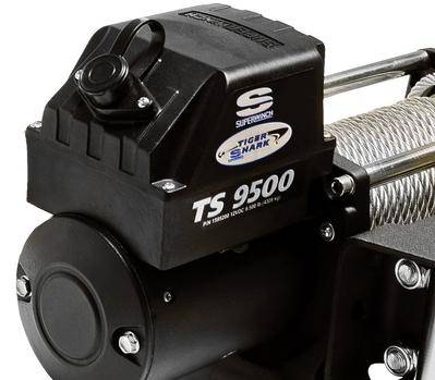 Superwinch - Superwinch Tiger Shark 9500SR Winch, Synthetic Rope - Image 3