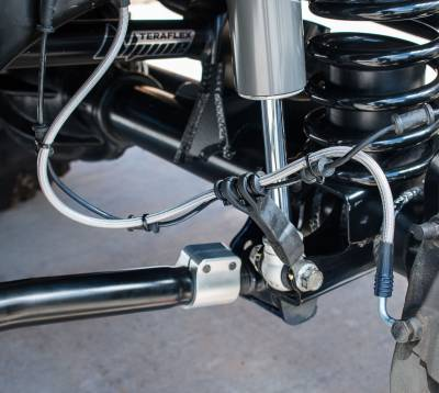 Tera-Flex Suspension - Universal 1-Hole Front Brake Line Anchor Kit - Image 2