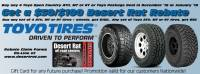 Toyo Tires Desert Rat Gift Card