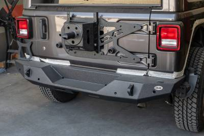DV8 Offroad - TAILGATE MOUNTED TIRE CARRIER  WRANGLER JL 2018+ - Image 2
