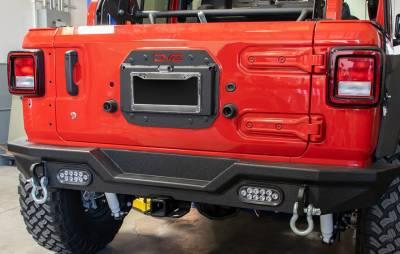 DV8 Offroad - SPARE TIRE DELETE KIT - Jeep Wrangler JL 2018 to Present - Image 2